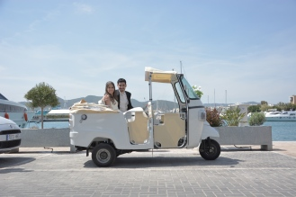 FotoCalessino transporte novios Ibiza13