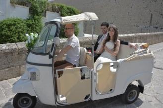 FotoCalessino transporte novios Ibiza2